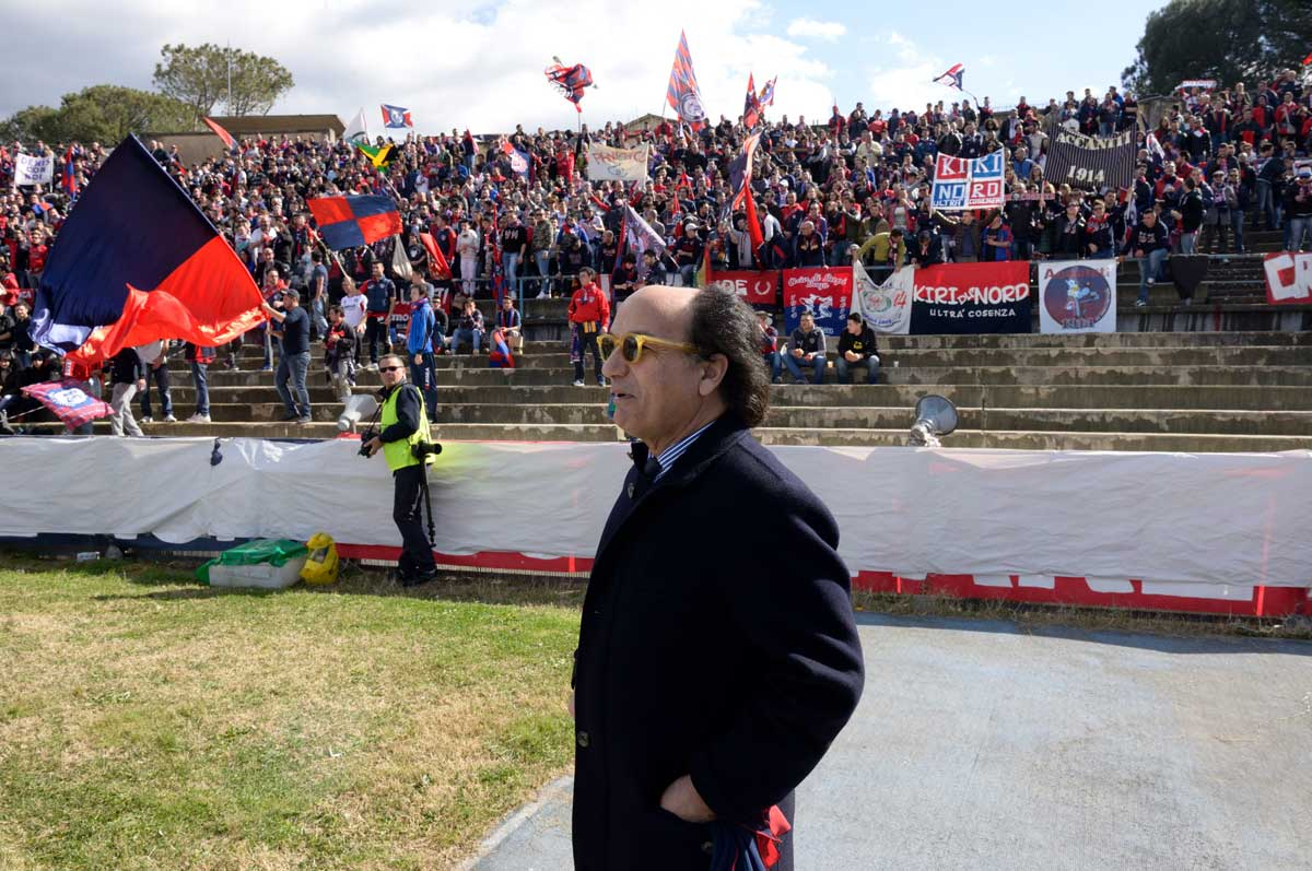 Guarascio è il presidente del Cosenza Calcio.